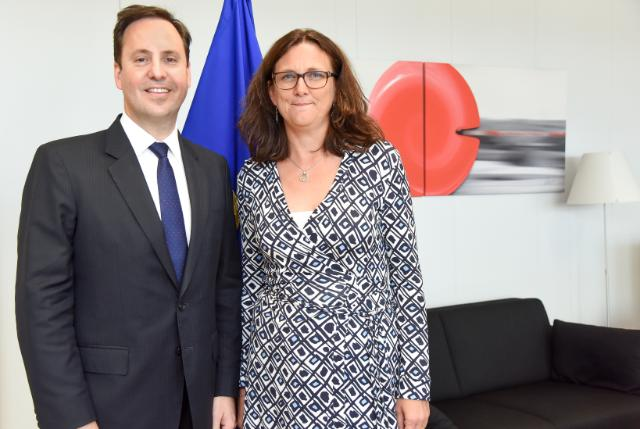 Visit of Steven Ciobo, Australian Minister for Trade and Investment and Member of the Australian Parliament, to the EC